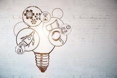 Comience para arriba las ideas Imagenes de archivo