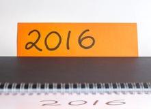 Comience a pensar en resoluciones del Año Nuevo Fotos de archivo
