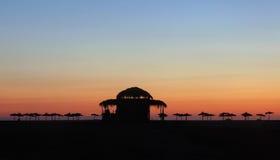 Comience su día en la playa Fotografía de archivo libre de regalías