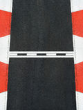 Comience y acabe la línea circuito de la raza de Grand Prix de la textura del asfalto Fotos de archivo