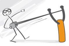 Comienzo de la catapulta libre illustration