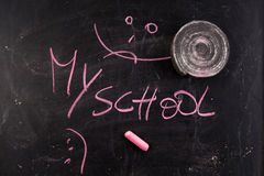 Comienzo de la escuela Fotografía de archivo libre de regalías