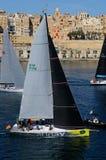 Comienzo de la raza media del mar de Malta Rolex fotos de archivo libres de regalías