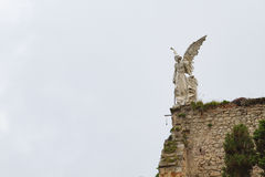 Comillas Angel sideways Royalty Free Stock Photo