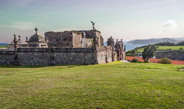 Comillas Cemetery Royalty Free Stock Image