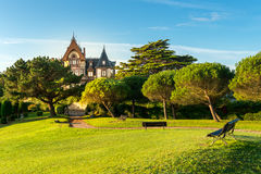 Comillas, Espagne Photo stock