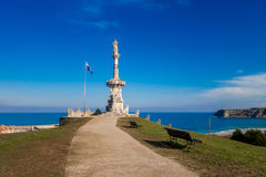 Comillas parc. Photograph of a parc in Comillas, Cantábria, Spain Royalty Free Stock Photos