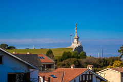 Comillas parc. Photograph of a parc in Comillas, Cantábria, Spain Royalty Free Stock Photo