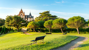 Comillas, spain Imagem de Stock Royalty Free