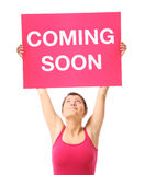 Comin soon Stock Images