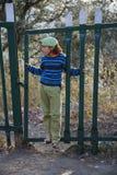 Coming through the gate Stock Photos