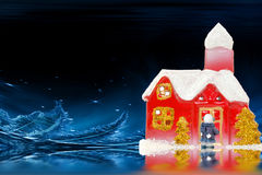Coming home for Christmas Royalty Free Stock Images