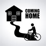 Coming home Royalty Free Stock Images