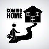 Coming home Royalty Free Stock Photo
