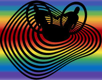 Coming Out. Vector concept 'coming out' gay pride-eps file available Stock Photo