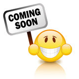 Coming soon Royalty Free Stock Photo