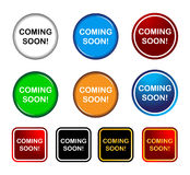 Coming soon. Illustration of coming soon icon element Stock Image