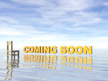 Coming soon Royalty Free Stock Photos