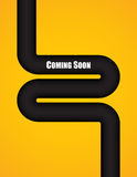 Coming soon background Royalty Free Stock Photo