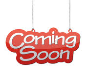 Coming soon background Royalty Free Stock Image