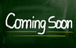 Coming Soon Concept Royalty Free Stock Images
