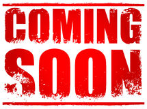 Coming Soon Royalty Free Stock Photography
