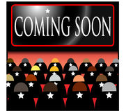 Coming Soon Illustration Stock Photography