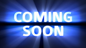 Coming Soon movie Stock Photography