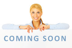 Coming soon! Stock Photo