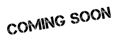 Coming Soon rubber stamp Royalty Free Stock Photos