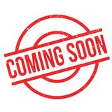 Coming Soon rubber stamp Stock Images