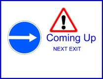 Coming soon sign Stock Photos