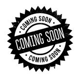 Coming soon stamp Stock Images