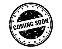 Coming soon stamp Stock Photography