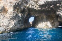 Comino caves Royalty Free Stock Image