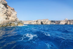 Comino caves Royalty Free Stock Photography