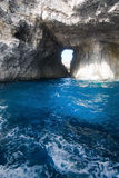 Comino caves Royalty Free Stock Image