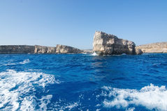 Comino caves Royalty Free Stock Images