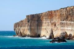 Comino island Stock Images