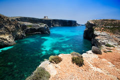 Comino Island Royalty Free Stock Photography