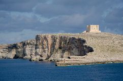 Comino island. Located in the channel between Malta and Gozo Stock Photography