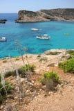 Comino island, Malta. Royalty Free Stock Image