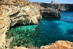 Comino Island, Malta Stock Photo