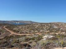 Comino Landschaft Stockfoto