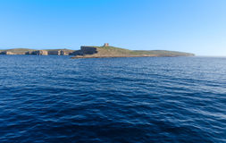 Comino - Malta. Comino island located in the channel between Malta and Gozo Stock Photos