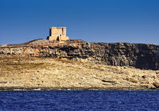 Comino Tower. The Comino Tower, in Malta Royalty Free Stock Photography