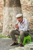 Comique de Sheki Khan Palace dans les montagnes de Caucase photo libre de droits