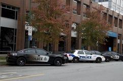Comisaría de policías Vancouver céntrica Imagenes de archivo