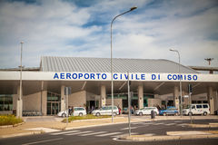 Comiso Airport Stock Photo