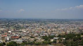 Comiso pejzaż miejski Ragusa prowincja, Sicily, Włochy Obrazy Royalty Free
